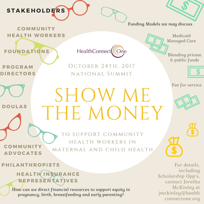 Show Me the Money (to support CHWs in MCH)