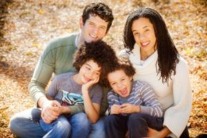 Stacey Austin and family   Photo by Leah Stern, Studio Juno